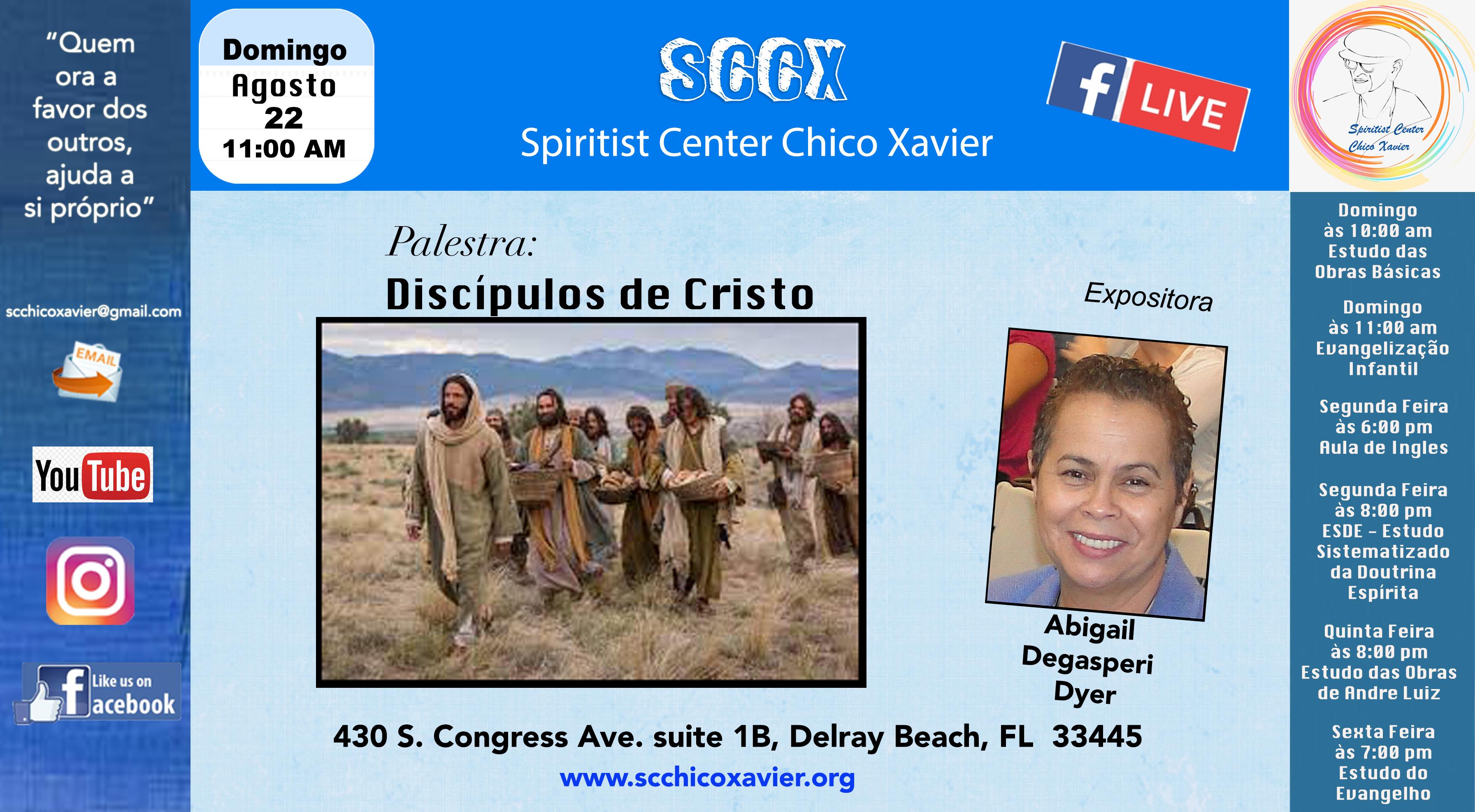 Abgail Degasperi Dyer - Discípulos de Cristo