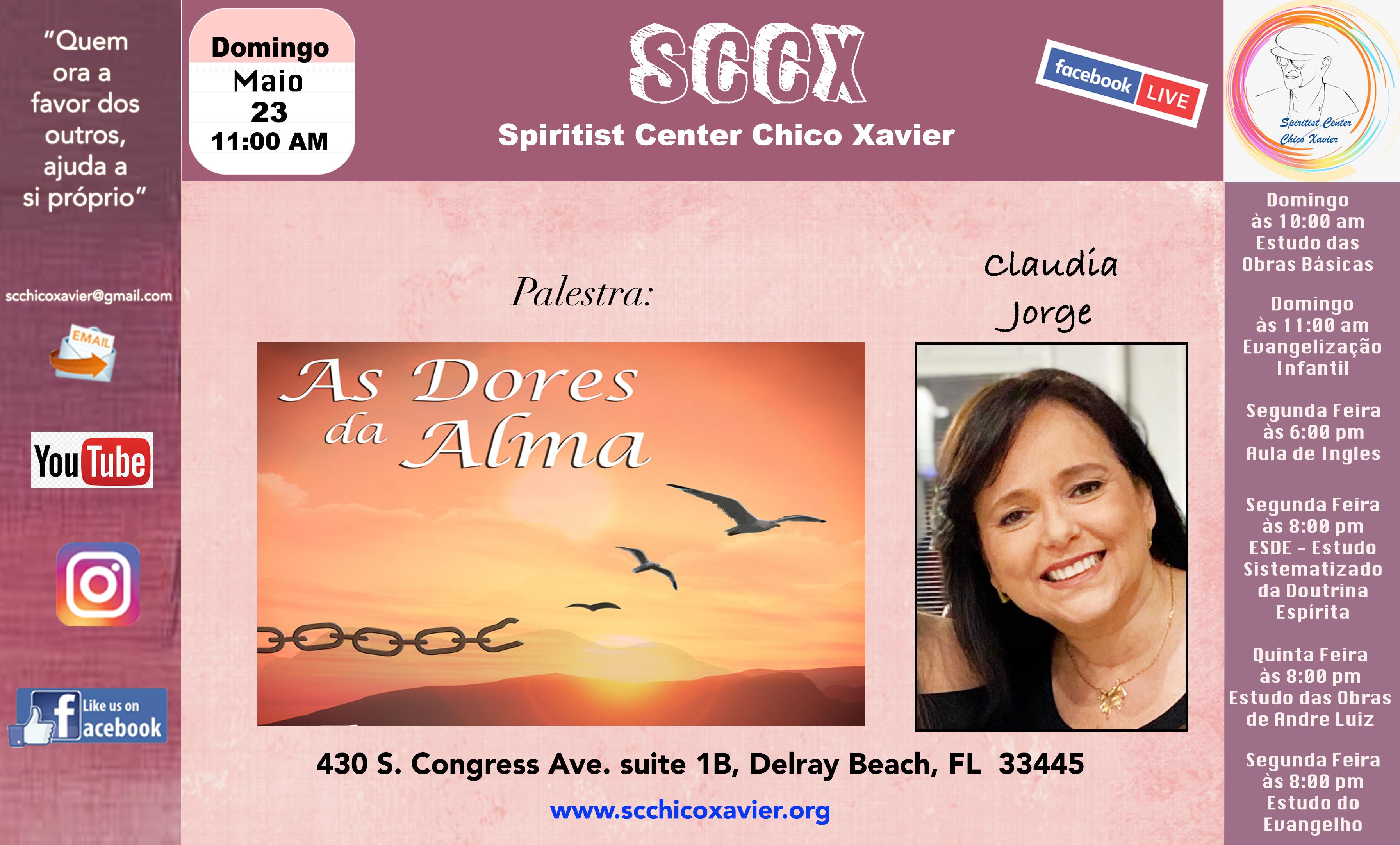 Claudia Jorge - As dores da Alma