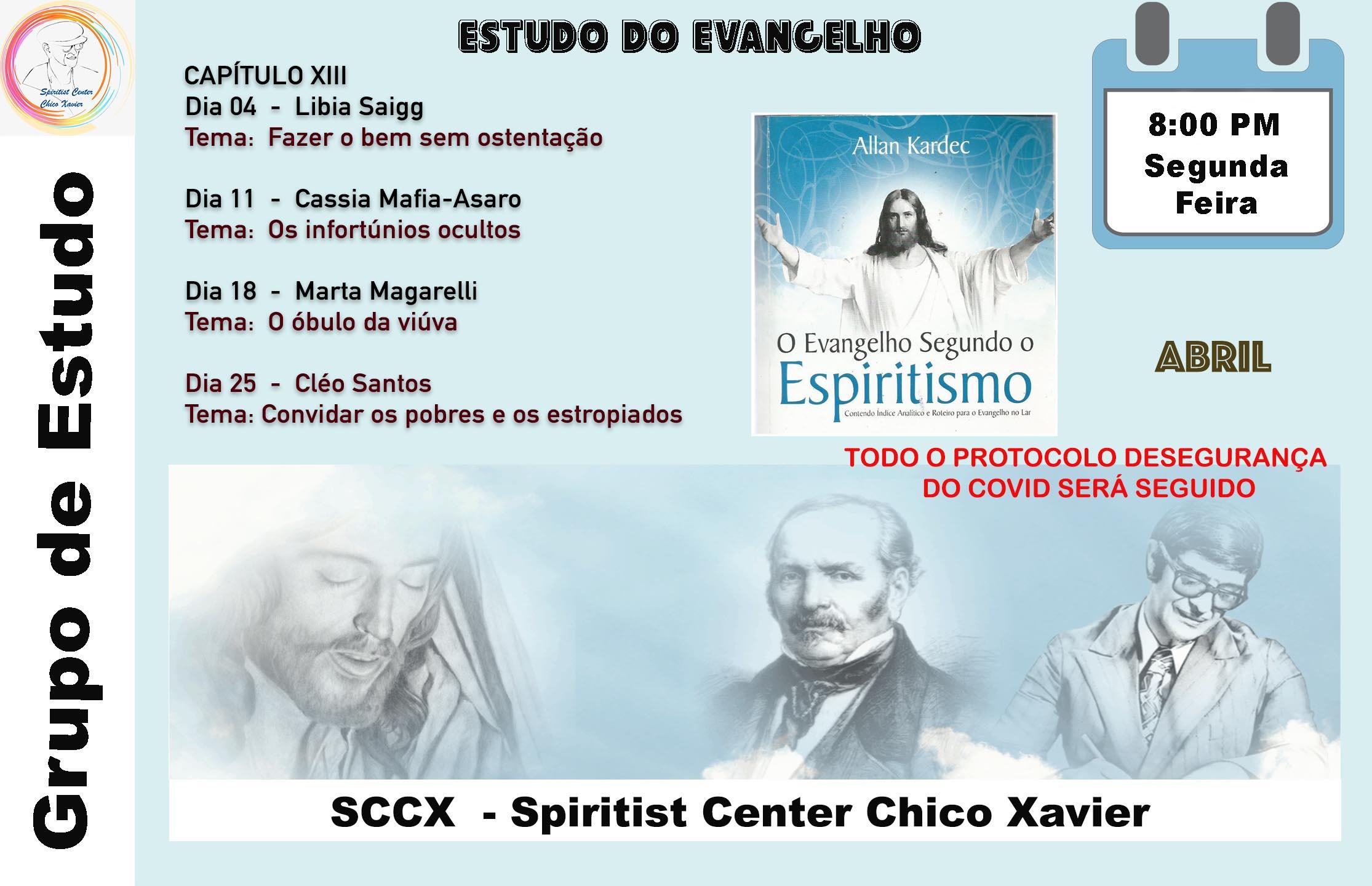 Est do Evangelho Apr 21