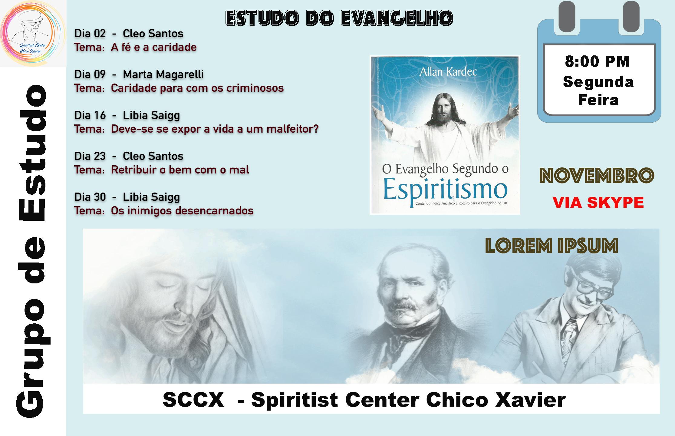 Est do Evangelho Nov 20