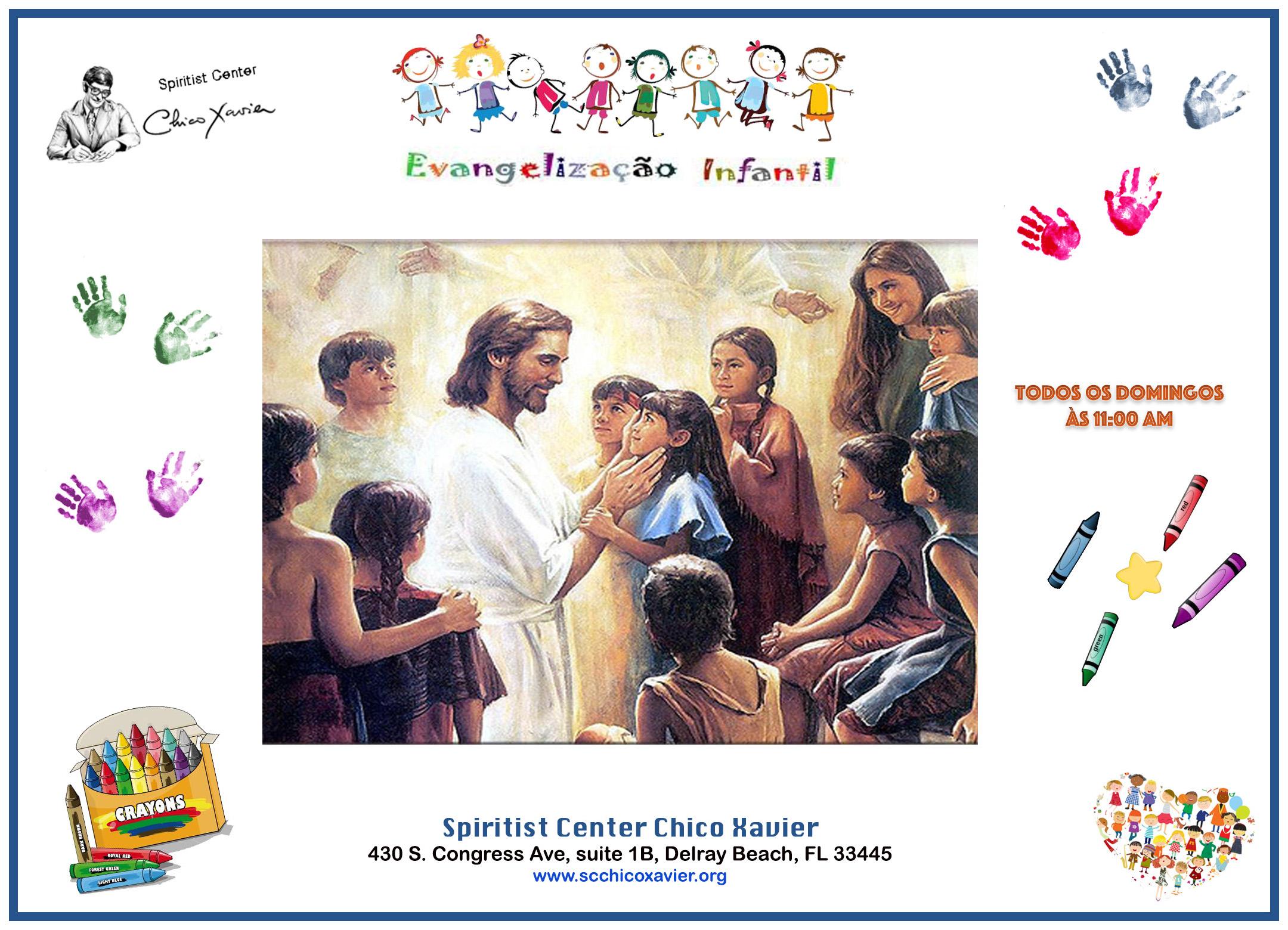 Evangelização Infantil domingos framed