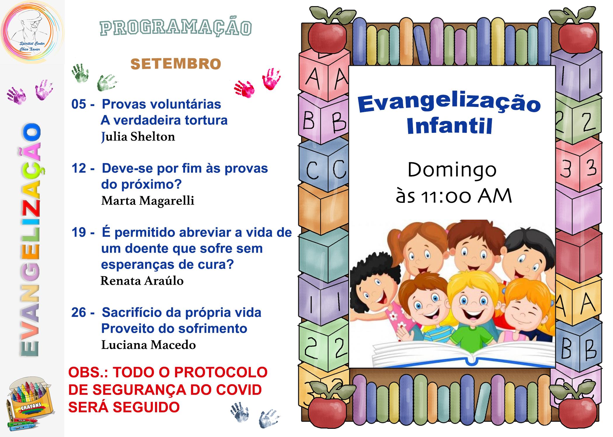 Evangelização Sept 2021