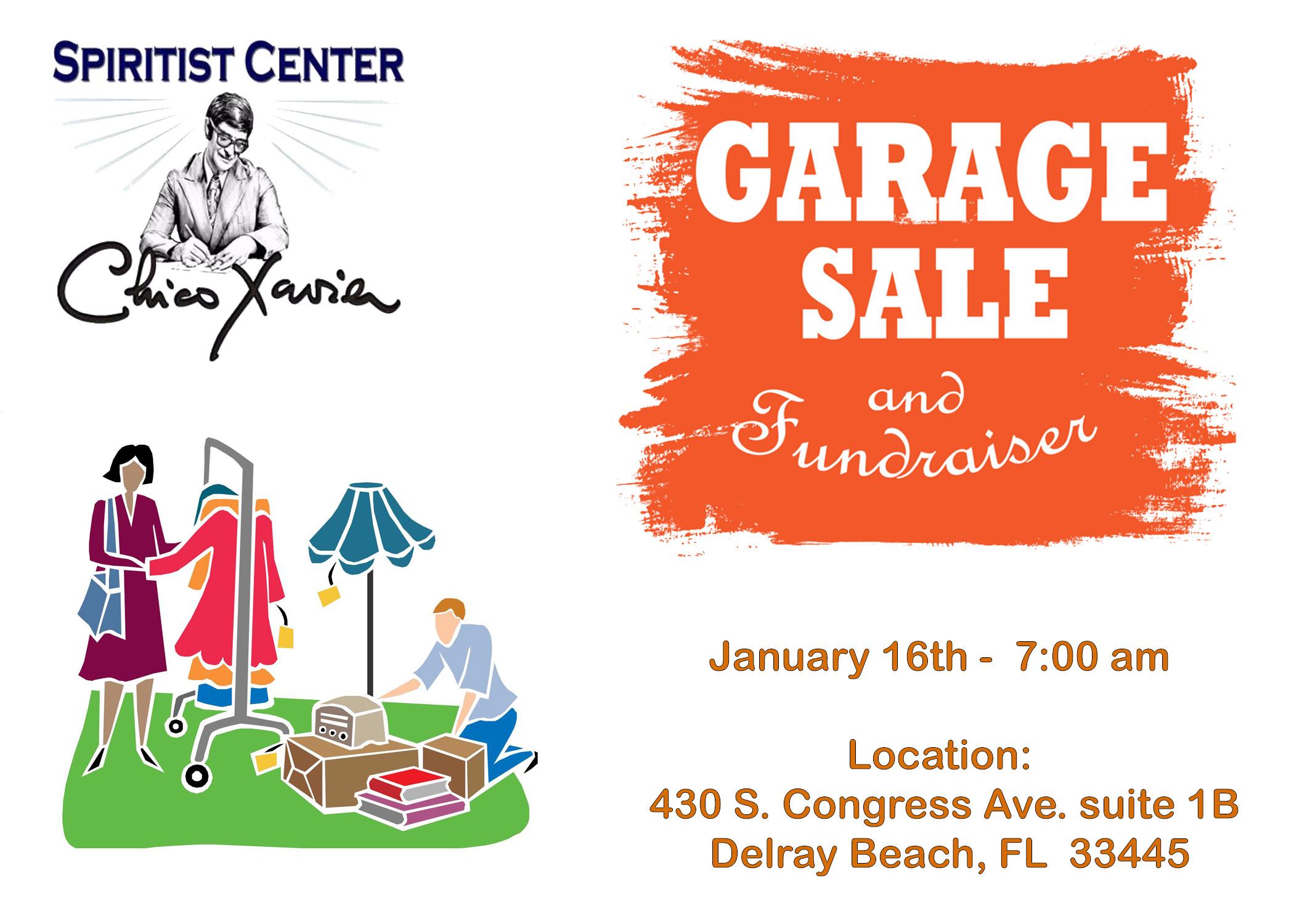 Garage Sale jan 16, 2021