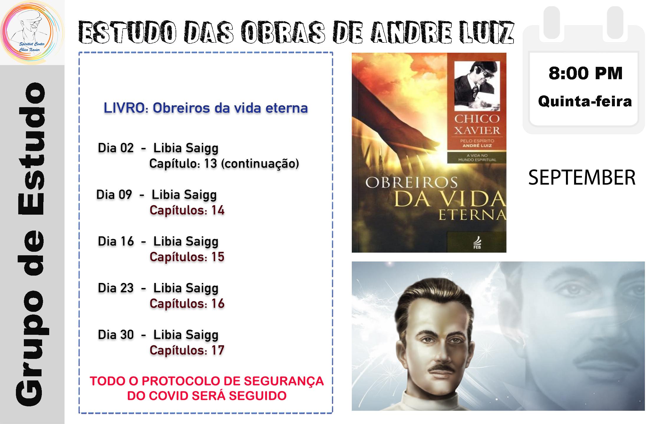 Obras de Andre Luiz September 21