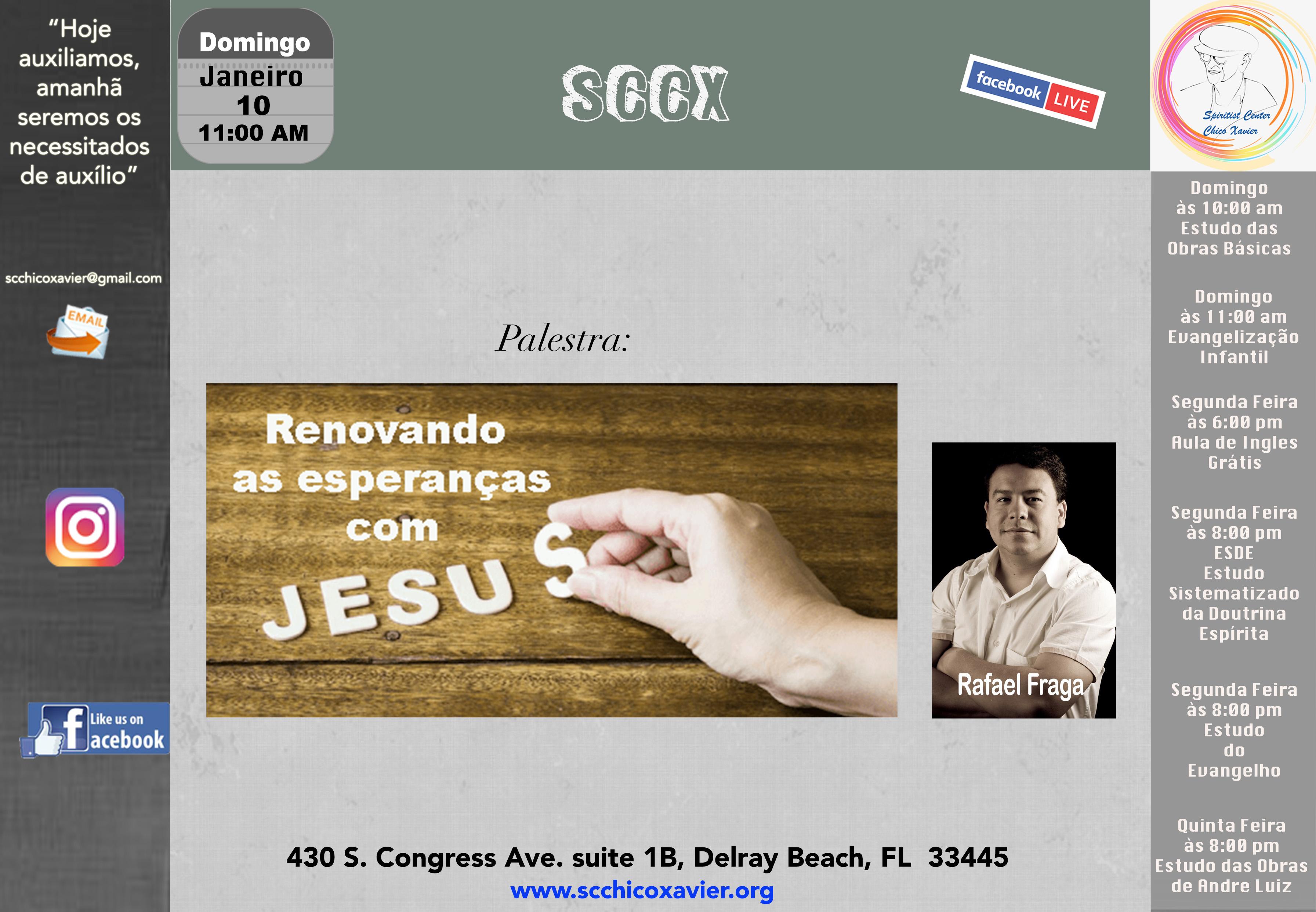 Rafael Fraga - Renovando as esperanças com Jesus