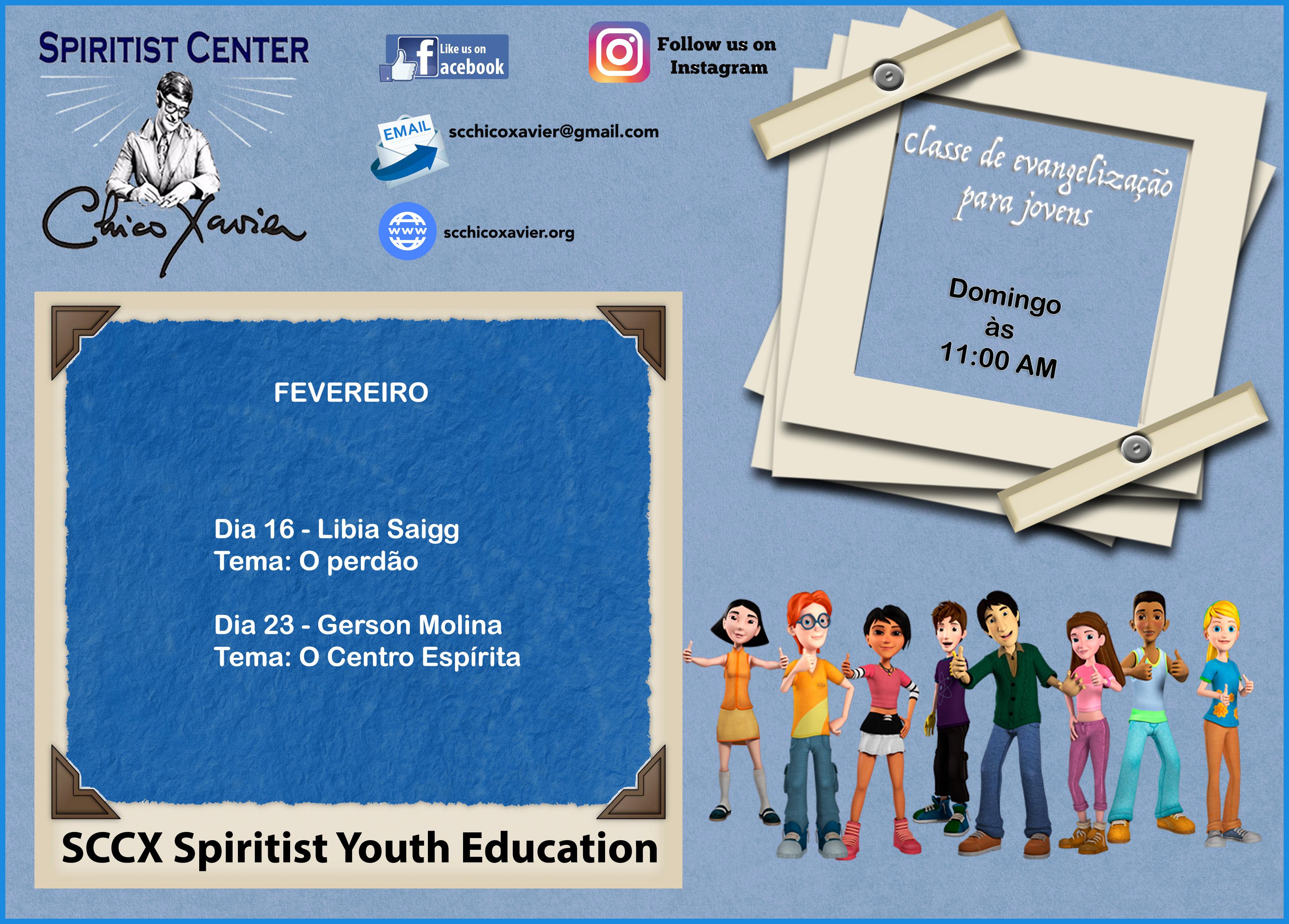 SCCX Yoth Education fevereiro