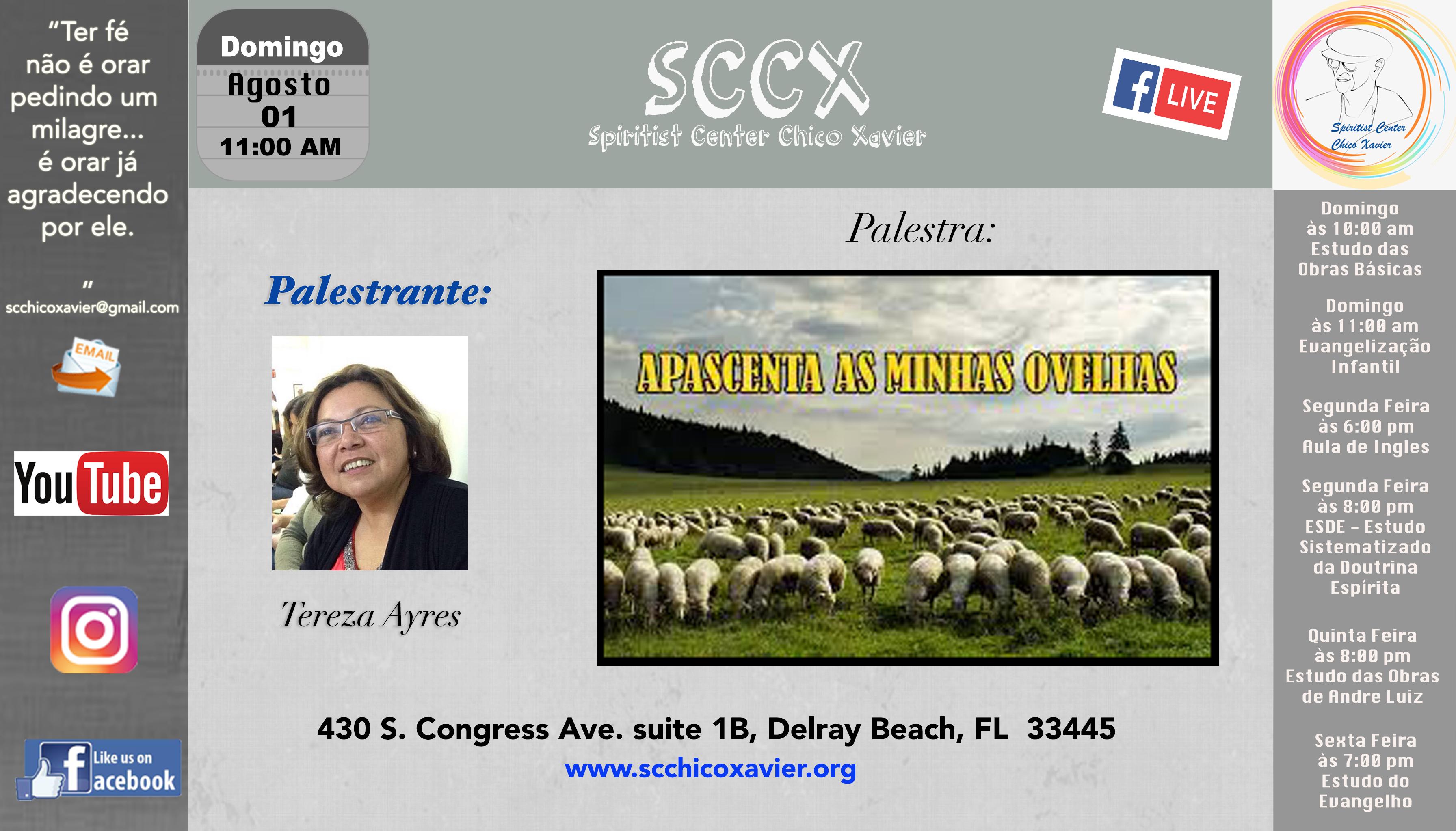 Tereza Ayres Curtis - Apascenta as minhas ovelhas