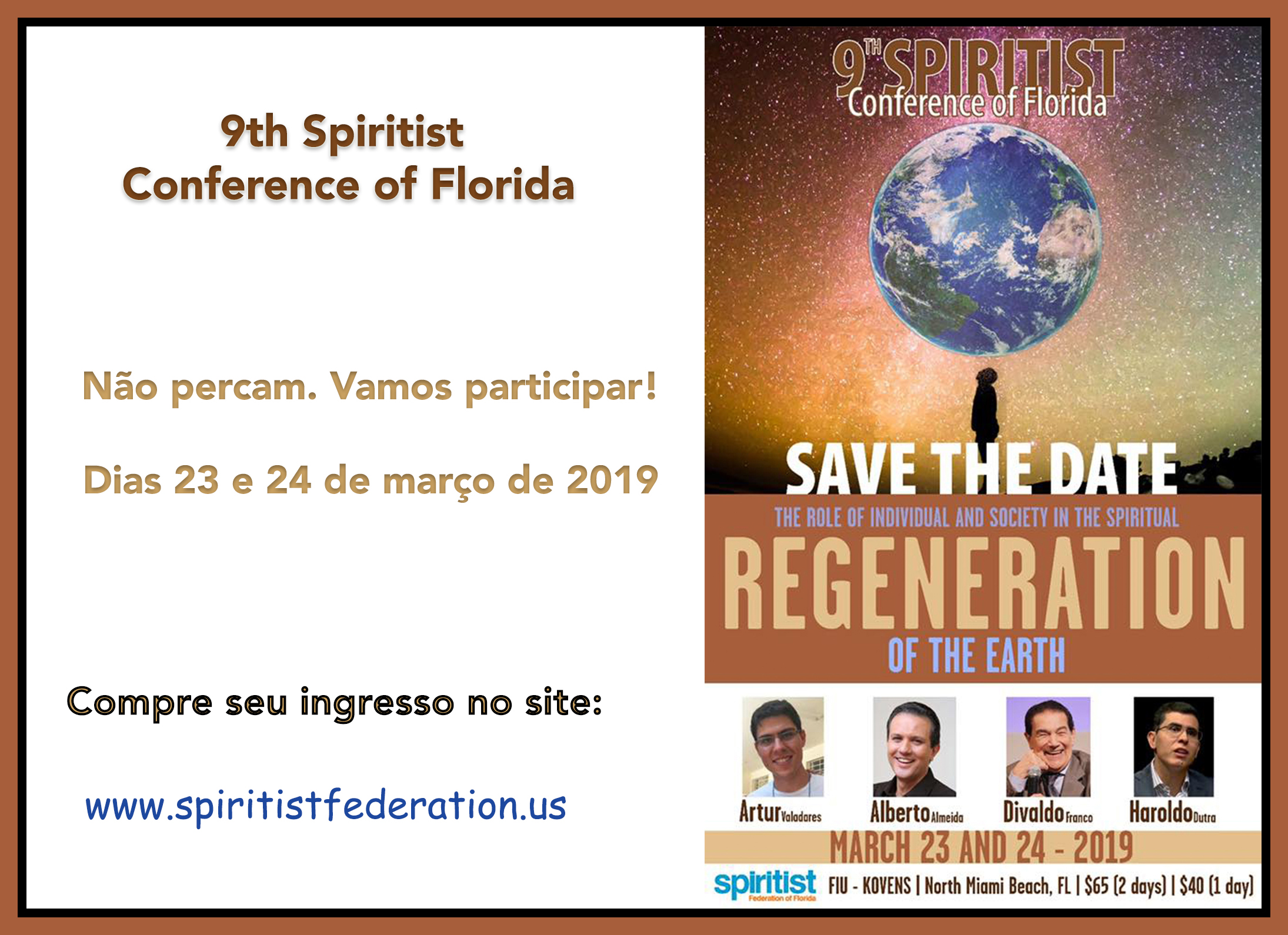 (th Spiritist Conference of Florida framed
