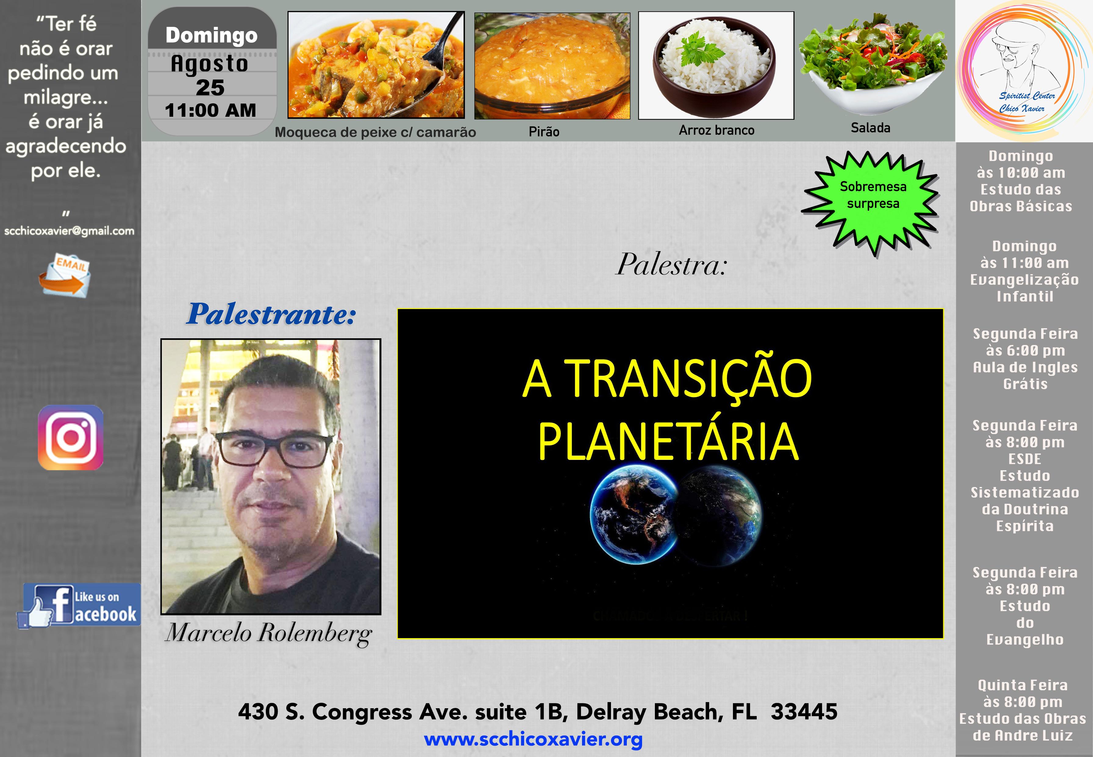 Marcelo Rolemberg - A transição Planetária