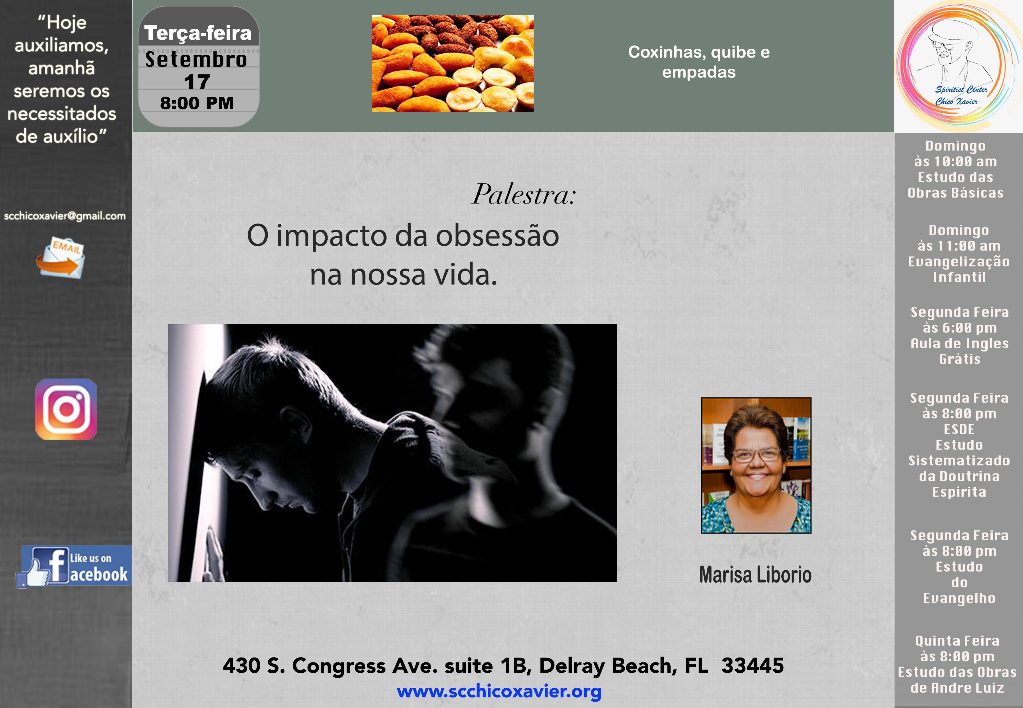 Marisa Liborio - O impacto da obsessão na nossa vida