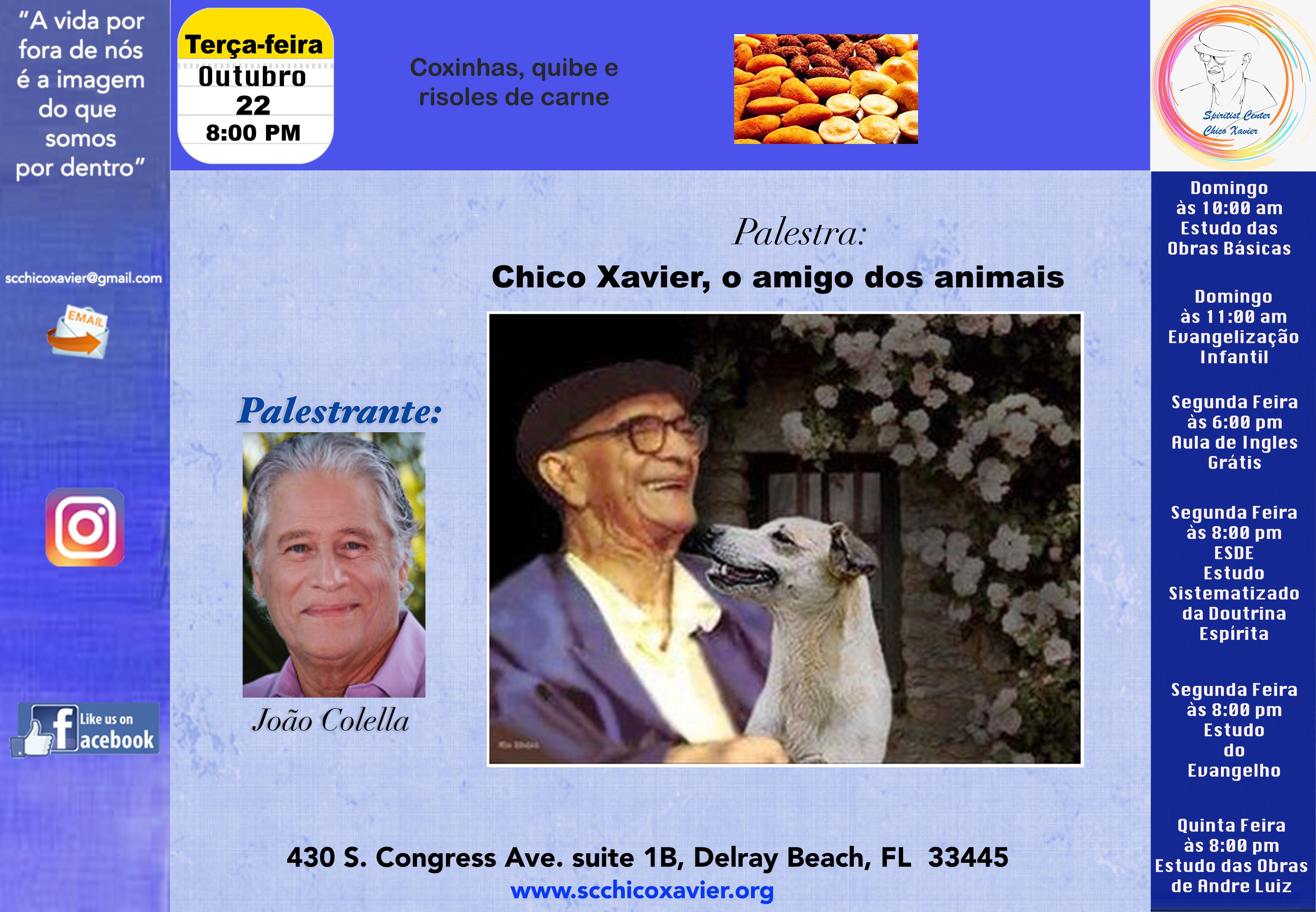 João Colella - Chico Xavier, o amigo dos animais