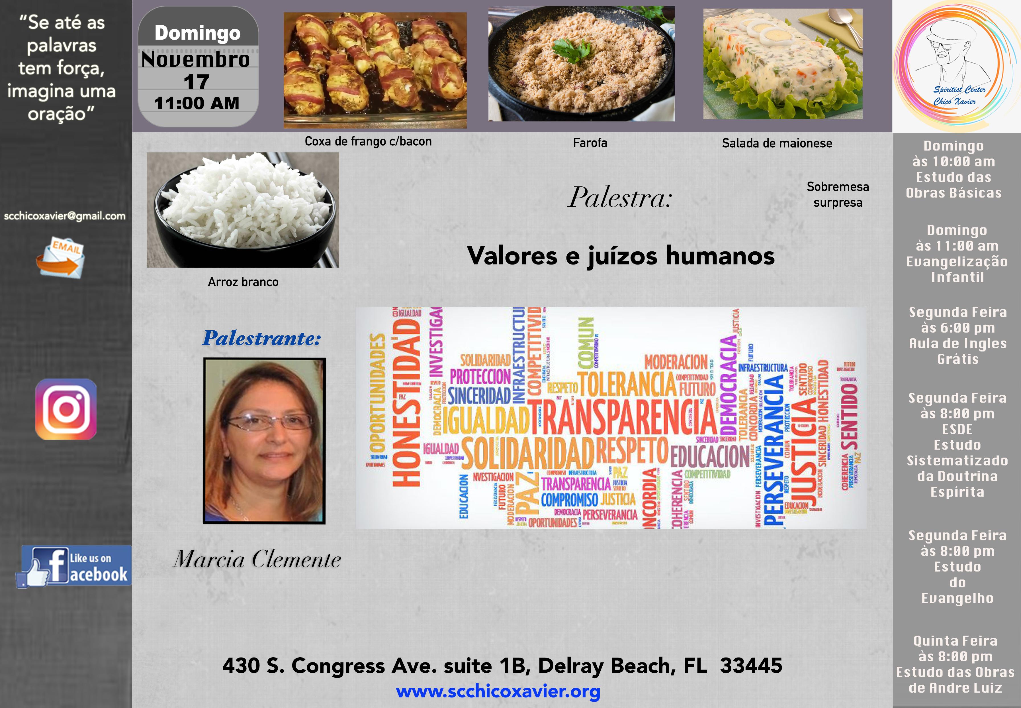 Marcia Clemente - Valores e juízos humanos