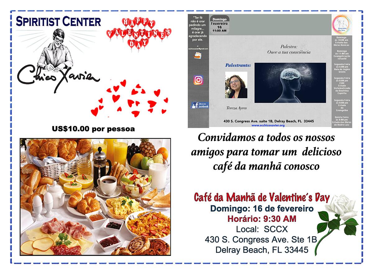 Breakfast Valentines 16 fevereiro
