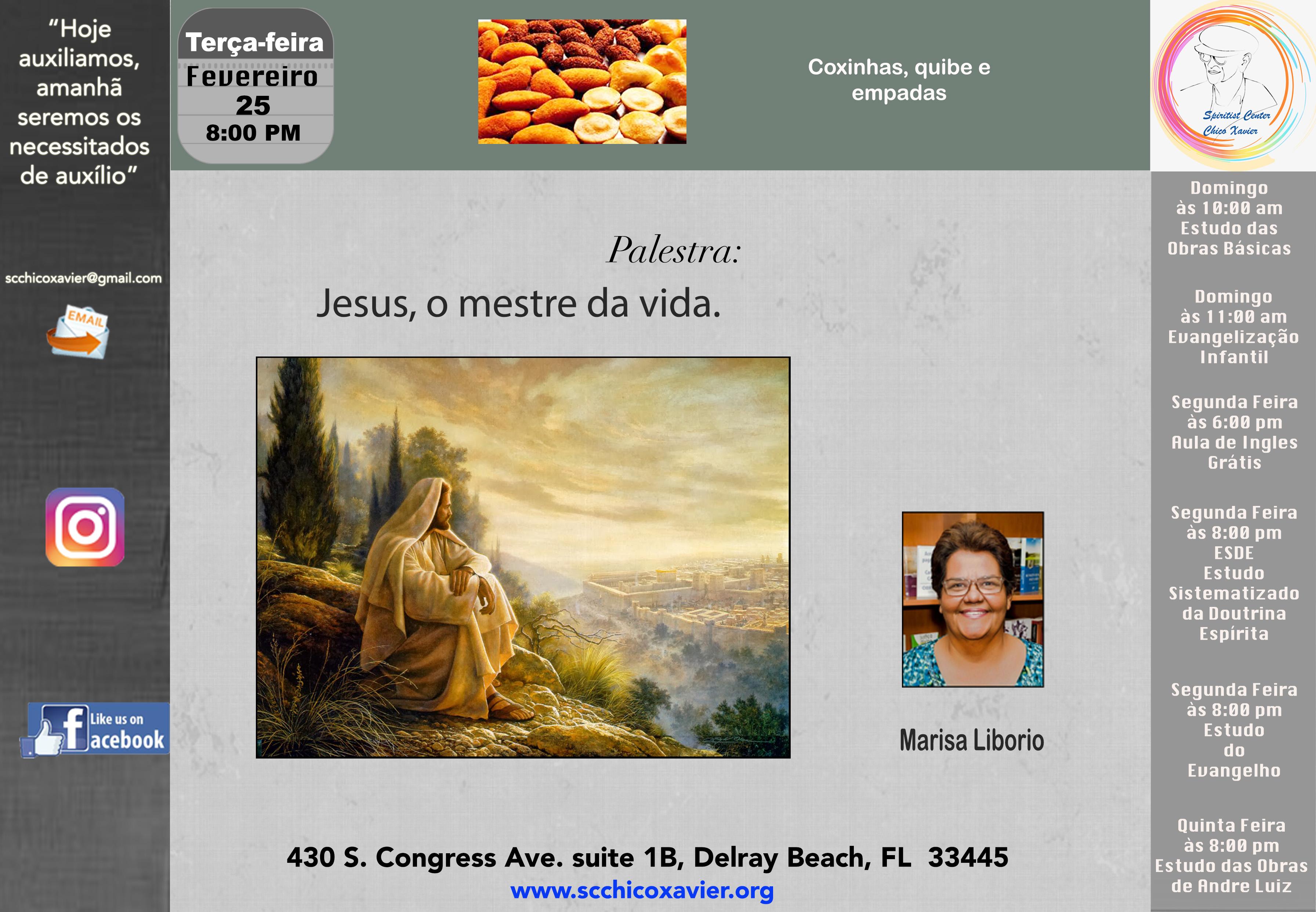 Marisa Liborio - Jesus, o mestre da vida