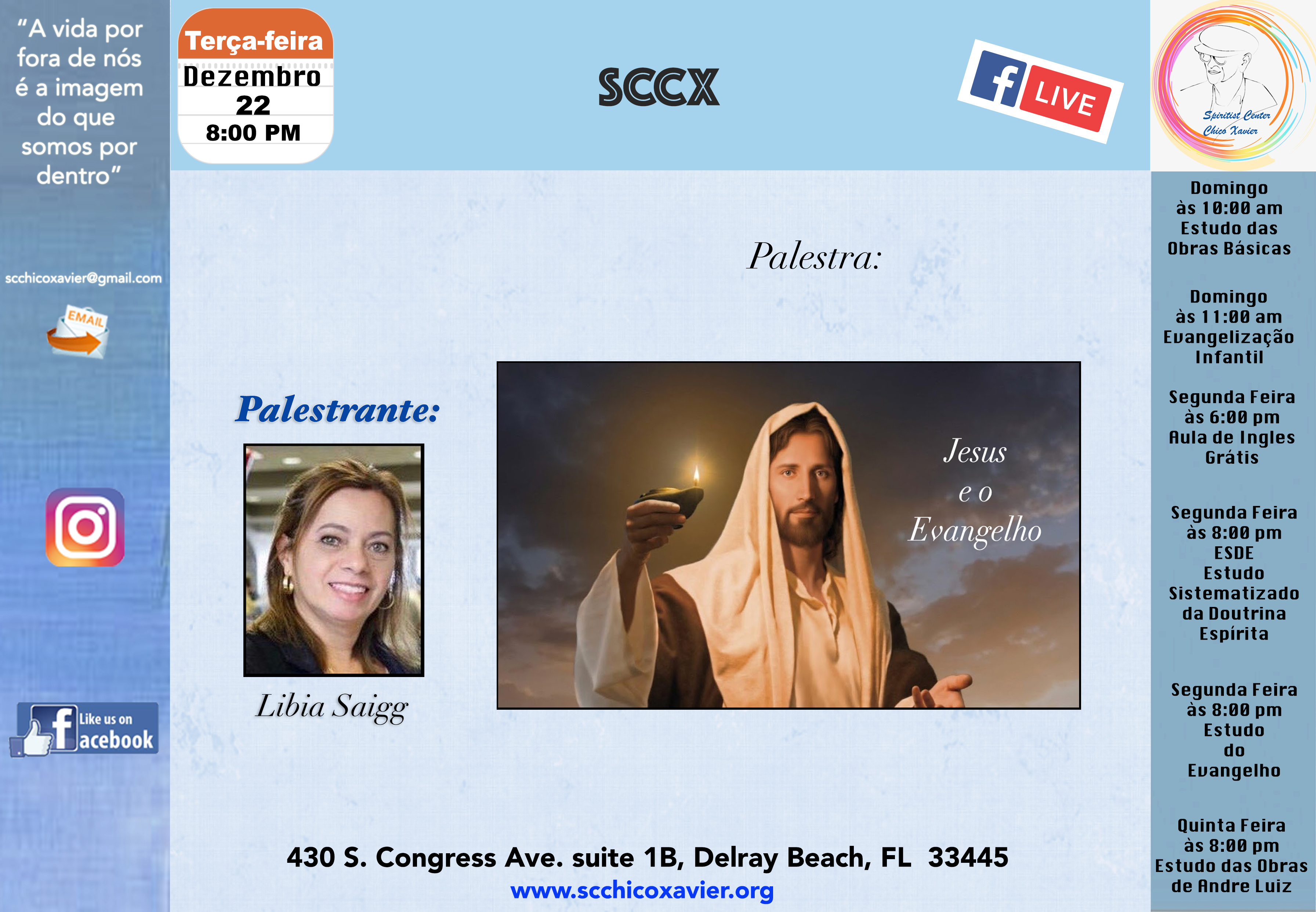 Libia Saigg - Jesus e o Evangelho