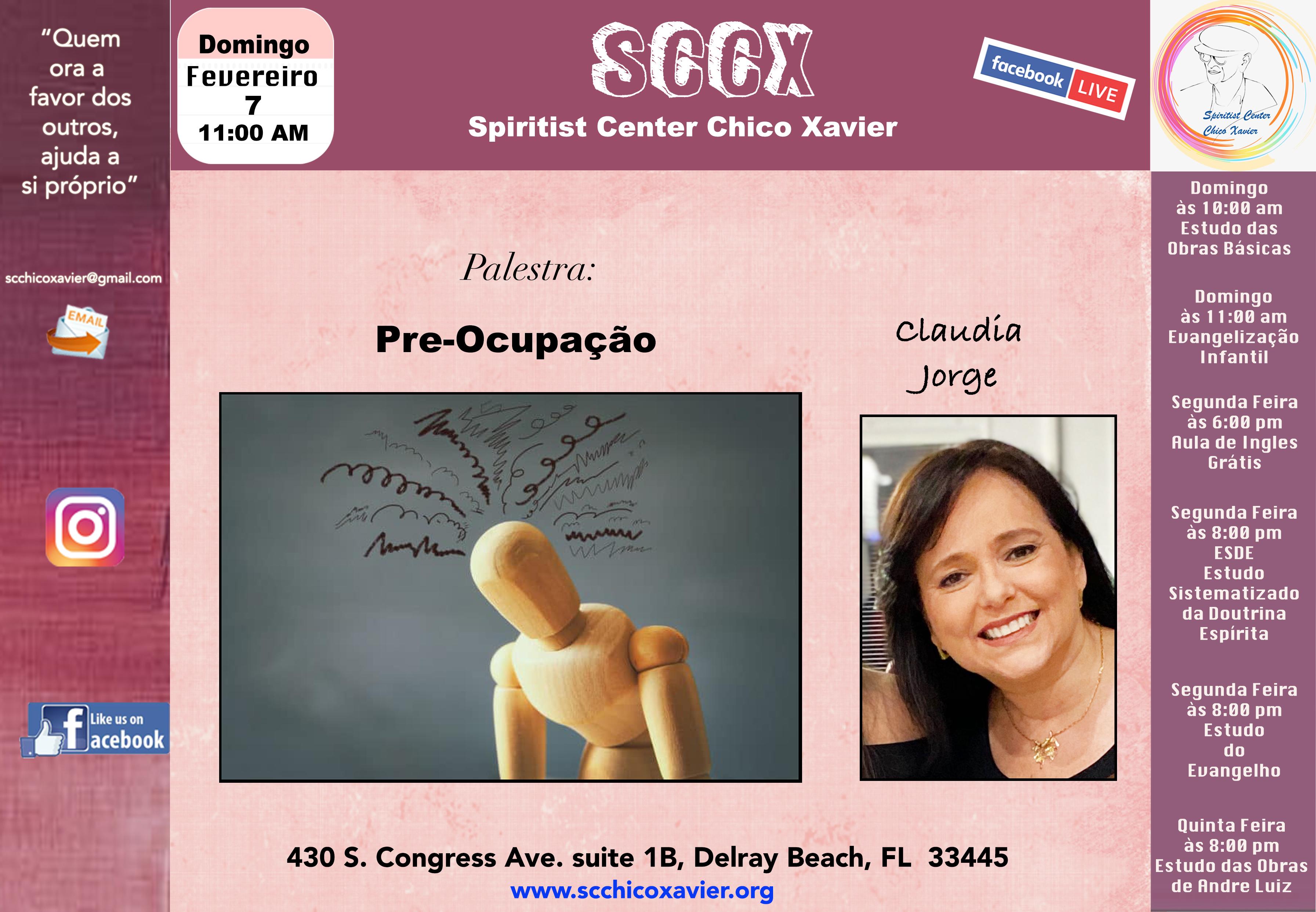 Claudia Jorge - Pre-ocupação