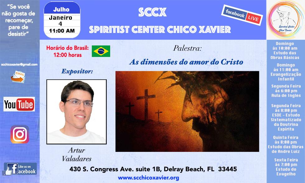 Artur Valadares - As dimensões do amor do Cristo
